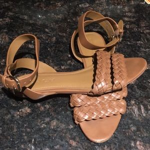 Tan Coach Sandals